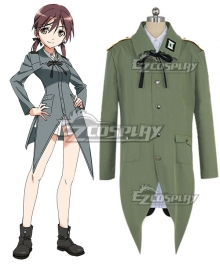 STRIKE WITCHES Gertrud Barkhorn Cosplay Costume