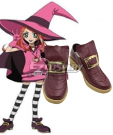 Sugar Sugar Rune Chocolate Brown Cosplay Shoes
