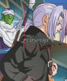 Super Dragon Ball Heroes Future Trunks Xeno Light Purple Cosplay Wig