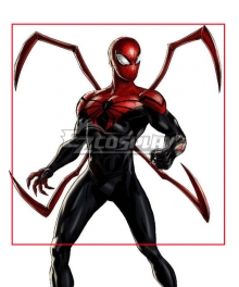 Superior Spider-Man Black Red Superior Spiderman Cosplay Weapon Prop