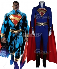 Superman Kryptonian president Calvin Ellis Cosplay Costume