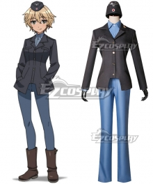 Brave Witches Waltrud Krupinski Cosplay Costume