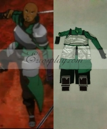 Sword Art Online Agil Green Cosplay Costume