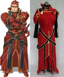 Sword Art Online ALfheim Online General Eugene Cosplay Costume