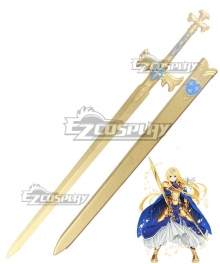 Sword Art Online Alicization SAO Alice Battle Suit Sword and Scabbard Cosplay Weapon Prop