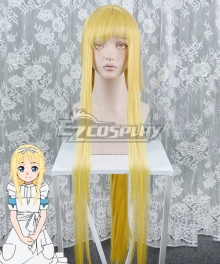 Sword Art Online Alicization Alice Golden Cosplay Wig