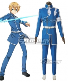 Sword Art Online Alicization SAO Anime Eugeo Battle Suit Cosplay Costume - A Edition