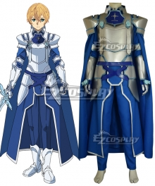 Sword Art Online Alicization SAO Eugeo Battle Suit New Edition Cosplay Costume