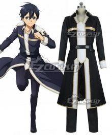 Sword Art Online Alicization SAO Kirito New Edition Cosplay Costume