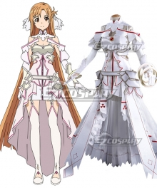 Sword Art Online Alicization SAO Yuuki Asuna Yuki Asuna Cosplay Costume