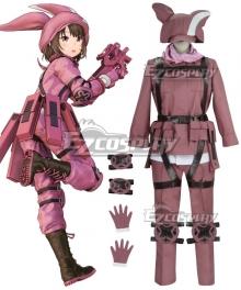 Sword Art Online Alternative: Gun Gale Online Llenn Kohiruimaki Karen Cosplay Costume