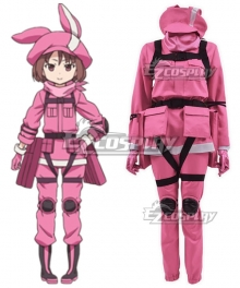 Sword Art Online Alternative: Gun Gale Online Llenn Kohiruimaki Karen New Edition Cosplay Costume