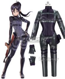 Sword Art Online Alternative: Gun Gale Online Kanzaki Elsa Pitohui Cosplay Costume