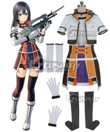 Sword Art Online: Fatal Bullet Female Protagonist Cosplay Costume