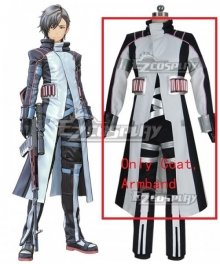 Sword Art Online: Fatal Bullet Itsuki Cosplay Costume - Only Coat, Armband