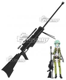 Sword Art Online II SAO Gun Gale Online GGO Asada Shino Sinon Shinon Hecate Ultima Ratio Hecate Gun Cosplay Prop