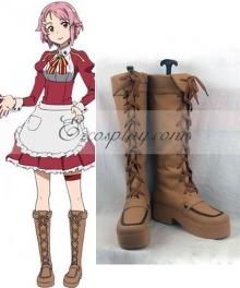 Sword Art Online Lisbeth Rika Shinozak Cosplay Boots
