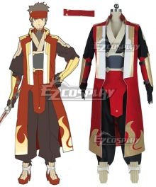Sword Art Online Ordinal Scale Klein Ryoutarou Tsuboi Movie Cosplay Costume