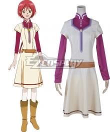 Snow White with the Red Hair kagami no Shirayukihime Shirayuki Chemist pharmacist Clothes Cosplay Costume