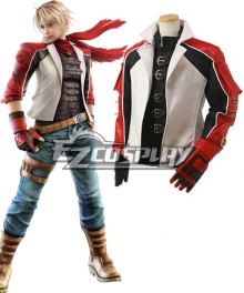 Tekken 6 Leo Kliesen Leather Jacket Cosplay Costume