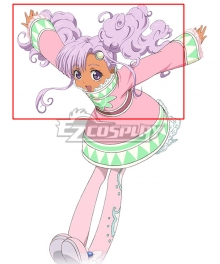 Tales of Eternia Meredy Purple Cosplay Wig