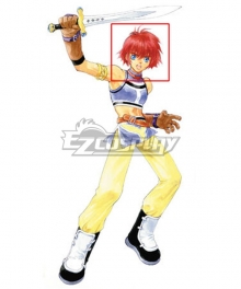 Tales of Destiny Lilith Aileron Golden Cosplay Wig