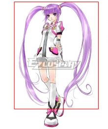 Tales of Graces Sophie Future Purple Cosplay Wig