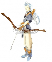 Tales of Phantasia Chester Burklight Cosplay Costume
