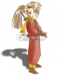 Tales of Phantasia Suzu Fujibayashi Cosplay Costume
