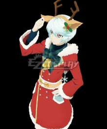 Tales of Zestiria Mikleo Christmas Cosplay Costume