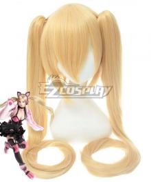 Tekken 7 Lucky Chloe Golden Cosplay Wig
