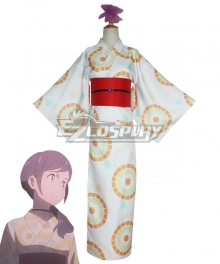 Tenki no Ko Weathering With You Hina Amano Kimono Cosplay Costume