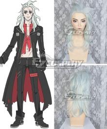 Tenrou: Sirius the Jaeger Mikhail Silver White Cosplay Wig