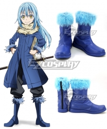 That Time I Got Reincarnated As A Slime Tensei Shitara Suraimu Datta Ken Rimuru Blue Shoes Cosplay Boots - A Edition
