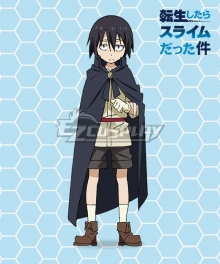 That Time I Got Reincarnated as a Slime Tensei Shitara Suraimu Datta Ken Ryota Sekiguchi Cosplay Costume