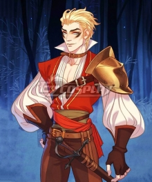 The Arcana Mercenary Lucio Outfit Cosplay Costume