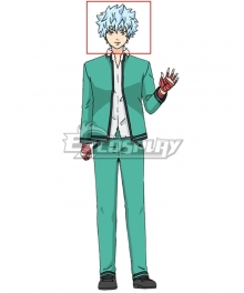 The Disastrous Life Of Saiki K Saiki Kusuo No Ψ Nan Kaidou Shun Blue White Cosplay Wig