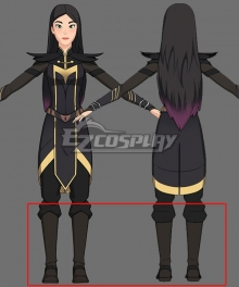 The Dragon Prince Claudia Grey Shoes Cosplay Boots