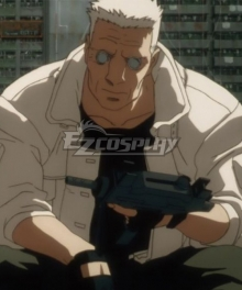 The Ghost in the Shell Batou Coat Cosplay Costume