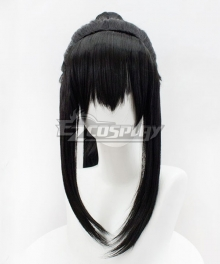 The Grandmaster of Demonic Cultivation Mo Dao Zu Shi Lan Sizhui Wen Yuan Black Cosplay Wig - Only Wig