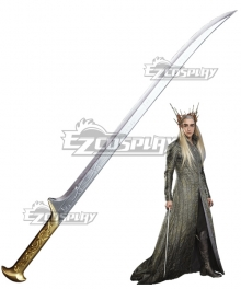 The Hobbit Thranduil Sword Cosplay Weapon Prop