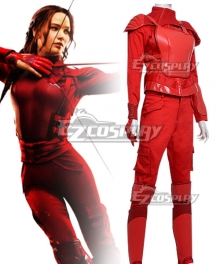 The Hunger Games Mockingjay Katniss Everdeen Red Cosplay Costume