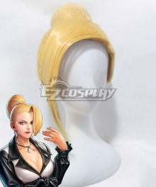 The King Of Fighters KOF Mature Golden Cosplay Wig