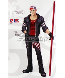 The King Of Fighters XIV KOF Billy Kane Cosplay Costume