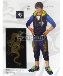 The King of Fighters XIV KOF Sie Kensou Cosplay Costume