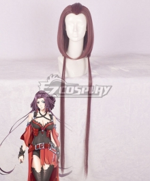The King's Avatar Quan Zhi Gao Shou Happy Tang Rou Soft Mist Purple Cosplay Wig