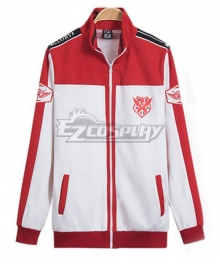 The King's Avatar Quan Zhi Gao Shou Happy Team Uniform Coat Cosplay Costume
