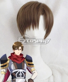 The King's Avatar Quan Zhi Gao Shou Happy Ye Xiu One Autumn Leaf Lord Grim Brown Cosplay Wig