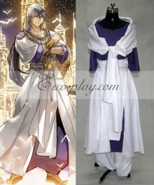 The Labyrinth of Magic Magi Sinbad Cosplay Costume