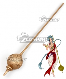 The Labyrinth Of Magic Magi Solomon Staff Cosplay Weapon Prop